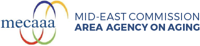Mid-East Commission Area Agency On Aging Logo